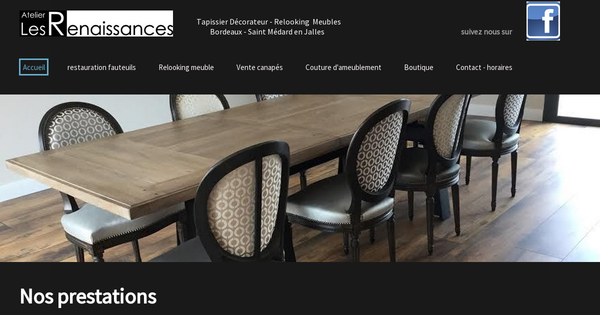 atelier les renaissances. Black Bedroom Furniture Sets. Home Design Ideas